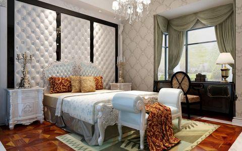 卧室背景墙经典风格装饰设计图片