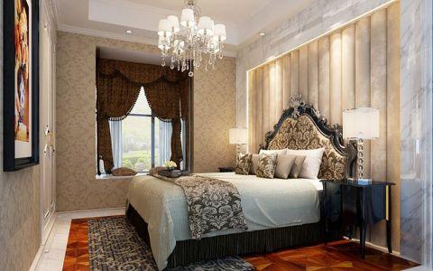 卧室窗帘经典风格效果图