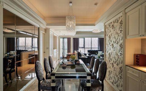 餐厅新古典风格装饰效果图