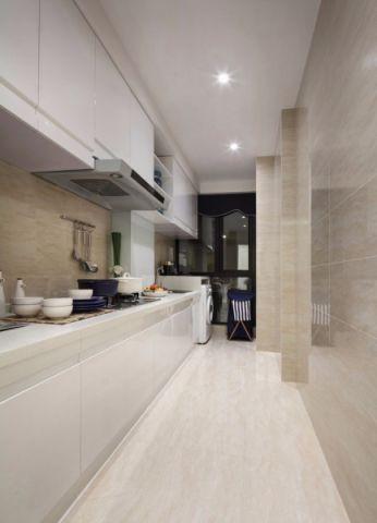 厨房背景墙简约风格装饰效果图