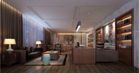 恒基集团现代时尚风格办公室工装效果图
