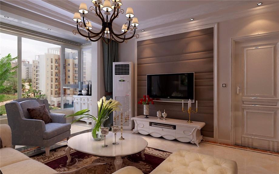 3室2卫1厅106平米欧式风格