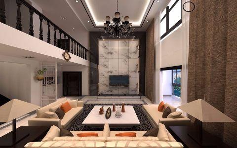 美的翰城现代风格别墅效果图