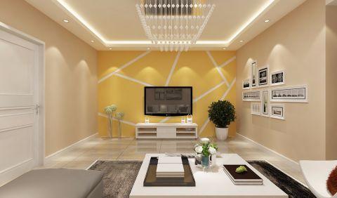财专宿舍两居室现代简约风格效果图