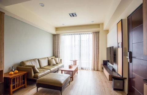 旭阳台北城现代风格案例图