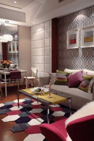 客厅走廊现代风格效果图