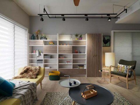 高成天鹅湖北欧风格三居室效果图