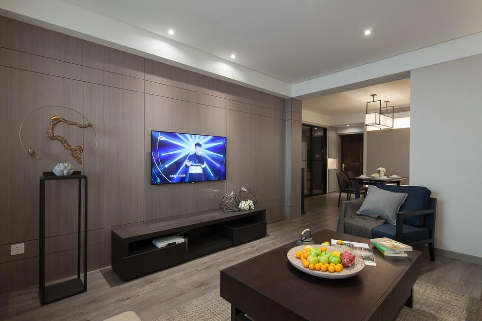 3室2卫1厅120平米现代简约风格
