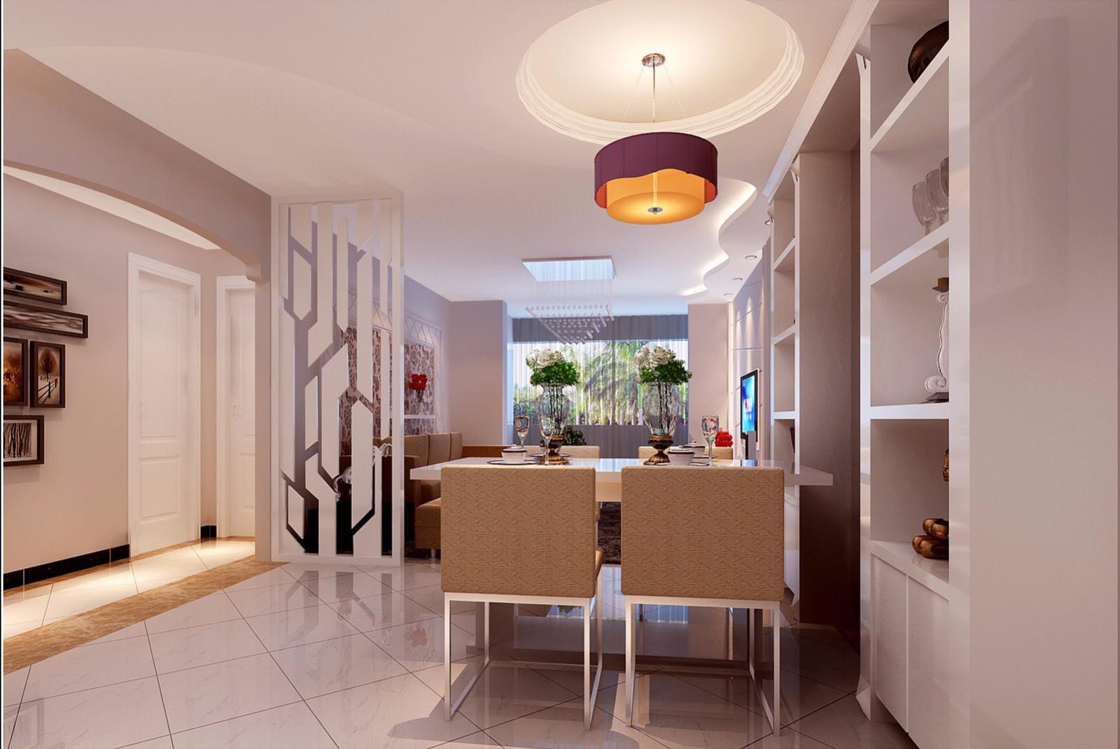 3室1卫1厅110平米现代风格