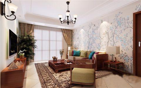 永威翡翠城115平三室两厅效果图