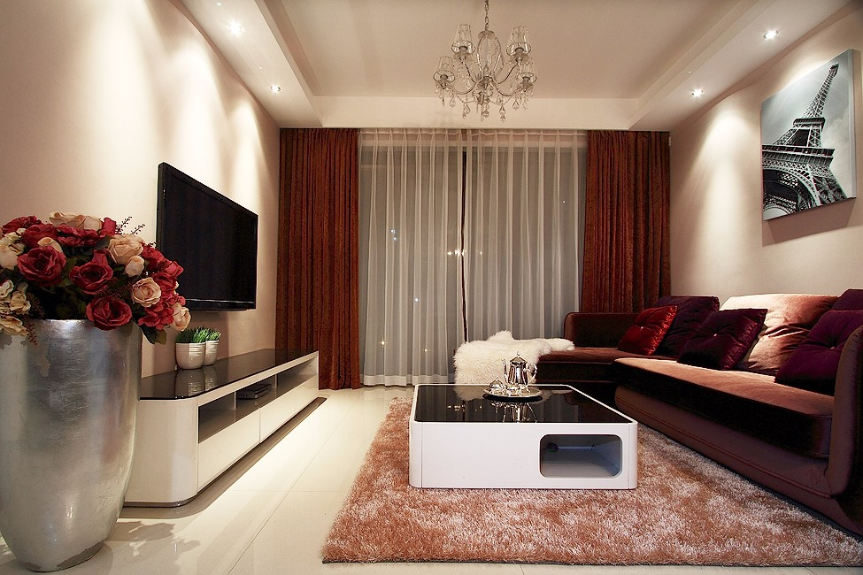 2室1卫2厅125平米现代风格