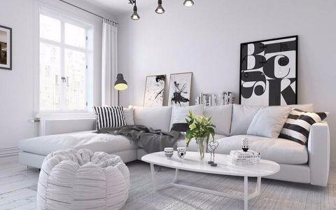 凤凰苑80平米两居室美式装修效果图