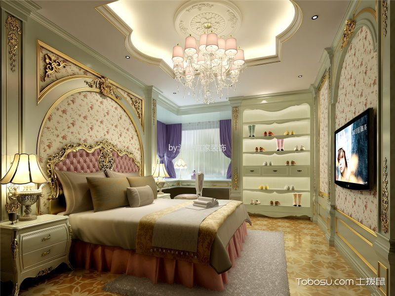 恒基.雍翠名城145平米高层8.9万法式风格