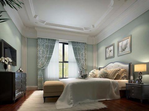 高贵风雅卧室装修案例效果图