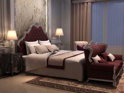 奢华大气彩色卧室装修图