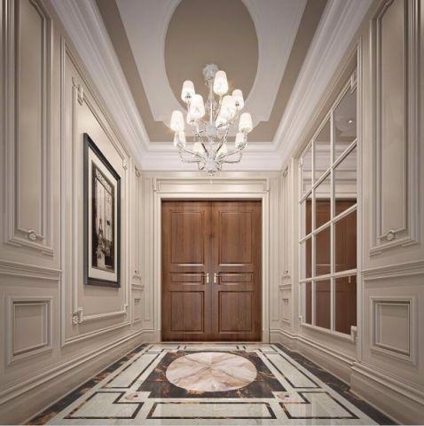 极致咖啡色门厅案例图
