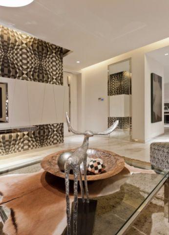 客厅黄色茶几现代风格装饰设计图片