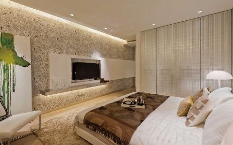 卧室黄色衣柜现代风格装饰图片