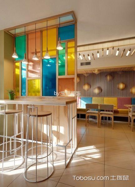 咖餐厅吧台设计图片