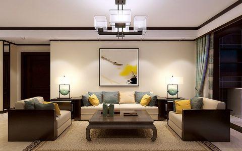 扬州天下130平中式风格装修设计效果图