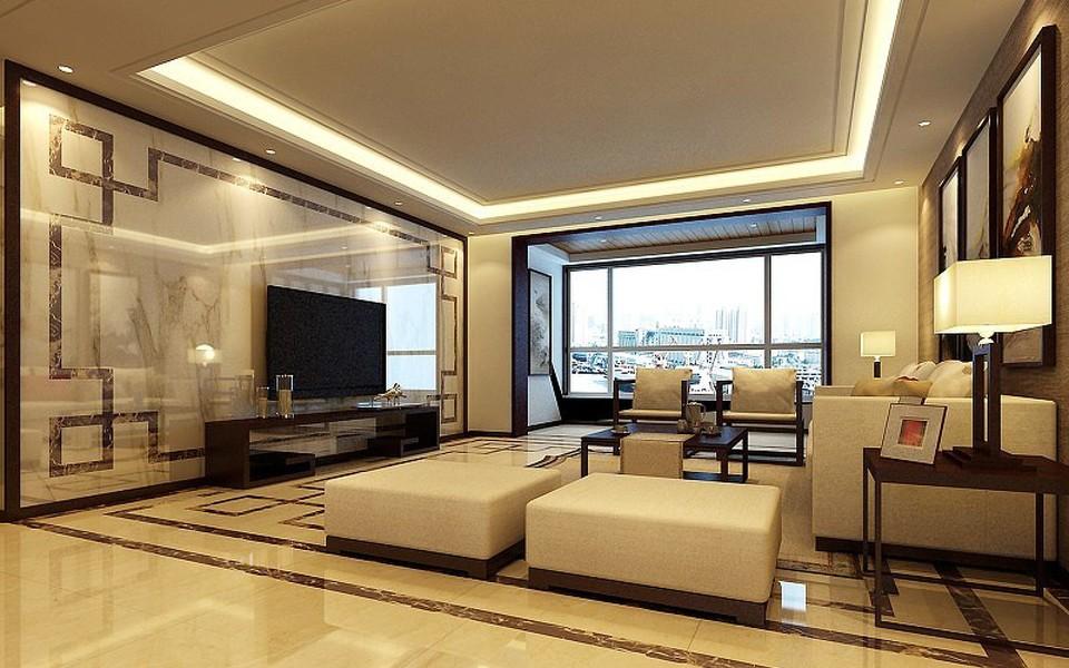 3室2卫2厅138平米中式风格