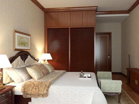 美好简装卧室中式装修案例效果图