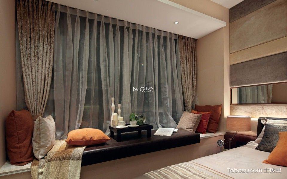 2019现代卧室装修设计图片 2019现代窗帘装修设计图片