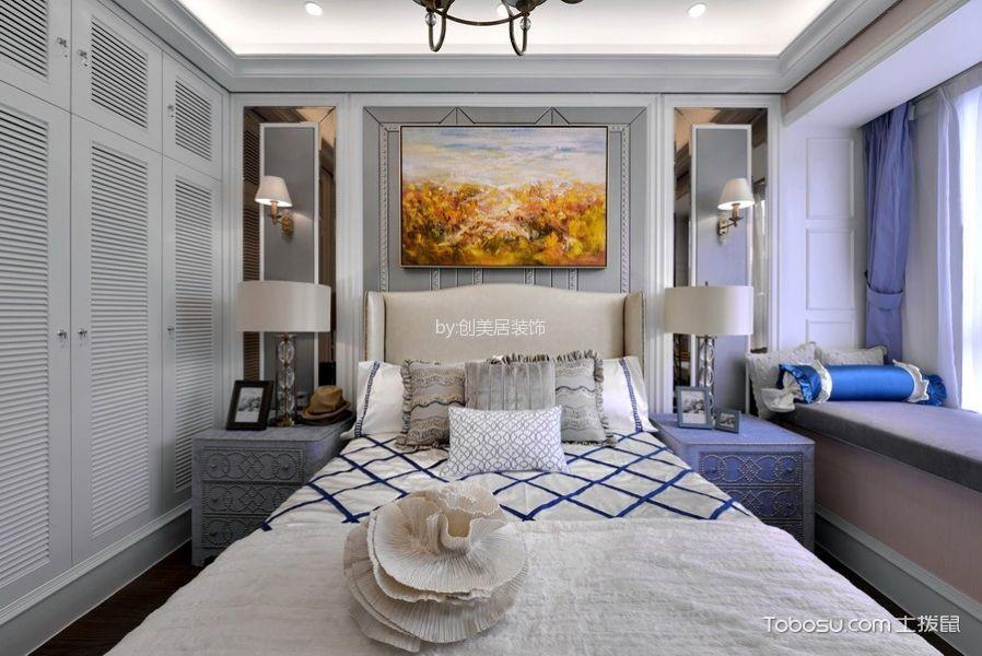 2018欧式卧室装修设计图片 2018欧式衣柜装修效果图片