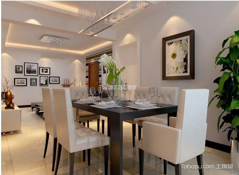 奥林匹克花园三居室现代风格装修效果图
