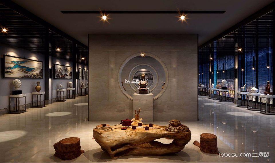 新中式茶楼会所展厅设计图欣赏