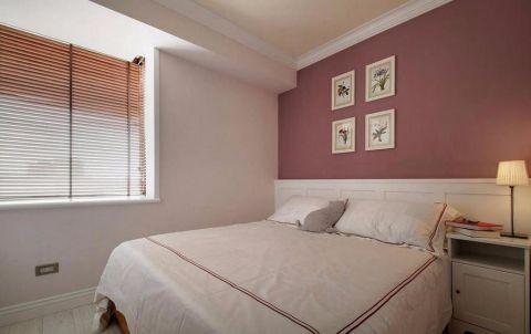 唯美卧室美式平面图