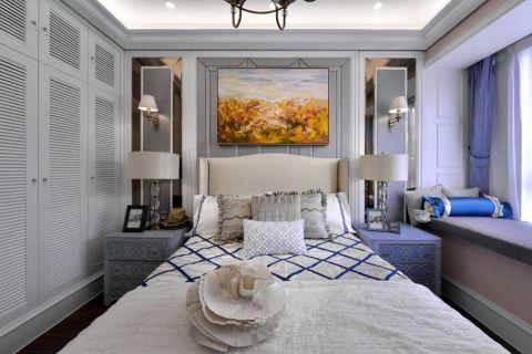 卧室白色衣柜效果图