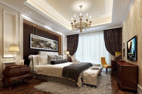 2018欧式卧室装修设计图片 2018欧式床装修效果图片