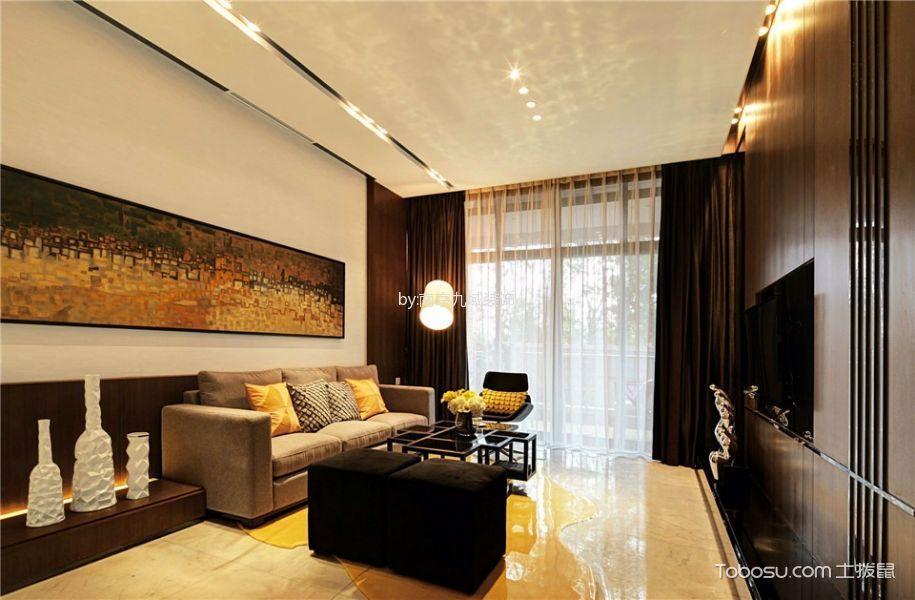 阳光之旅245平米大户型现代家装装修效果图