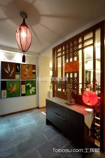 2021中式古典90平米效果图 2021中式古典三居室装修设计图片
