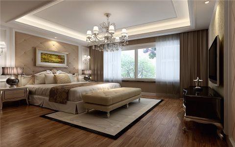 卧室白色飘窗装潢图