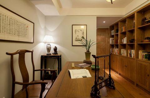 书房米色背景墙设计方案