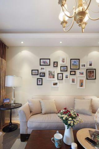宜浩家园80平米美式风格小户型装修效果图