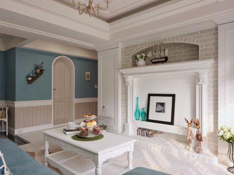 美林小城100平米混搭风格两居室装修效果图