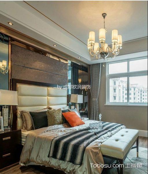 卧室吊顶简欧装饰图