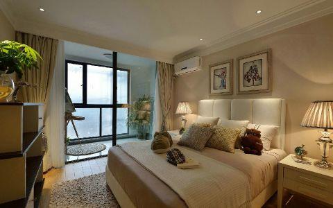 奢华大气米色背景墙装潢图片
