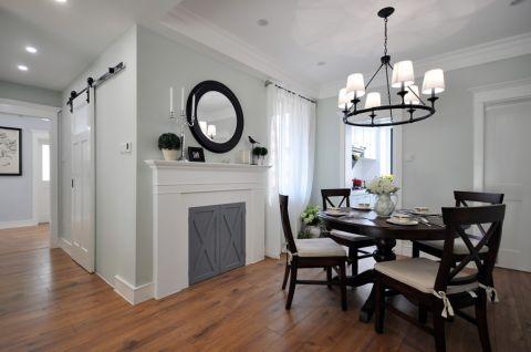 餐厅白色门厅现代风格装饰效果图