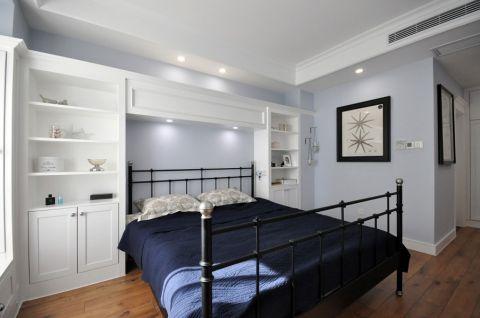 卧室白色吊顶现代风格装饰图片