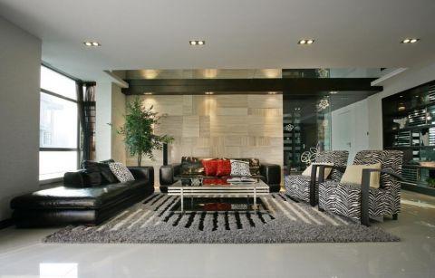 客厅沙发现代简约平面图