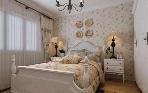美好白色窗帘装饰图片