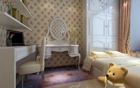 2018现代简约儿童房装饰设计 2018现代简约窗帘装修图