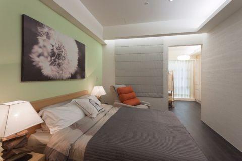 卧室白色吊顶简约风格效果图