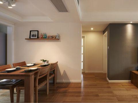保利海上罗兰106平三居室简约风格装修设计图