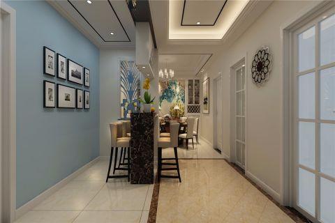 玄关吧台现代风格装潢效果图