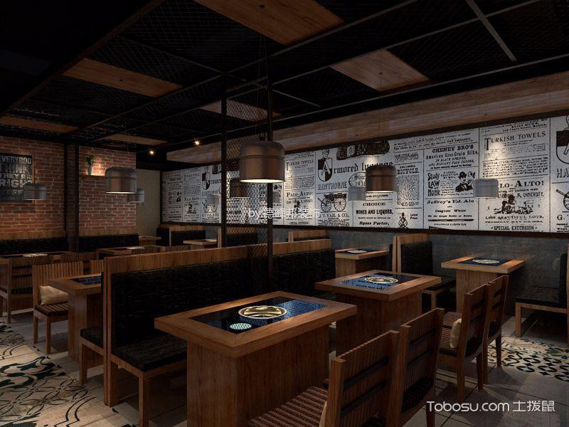 300平米餐馆用餐区餐桌装潢设计图片